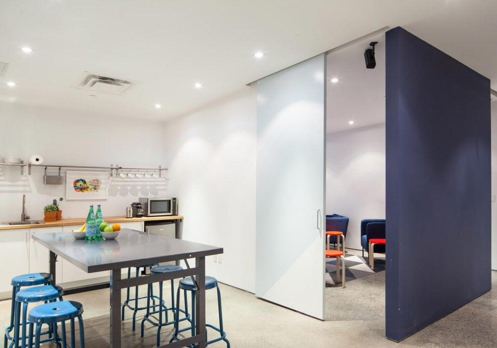 mavericks vfx kitchen and screening space
